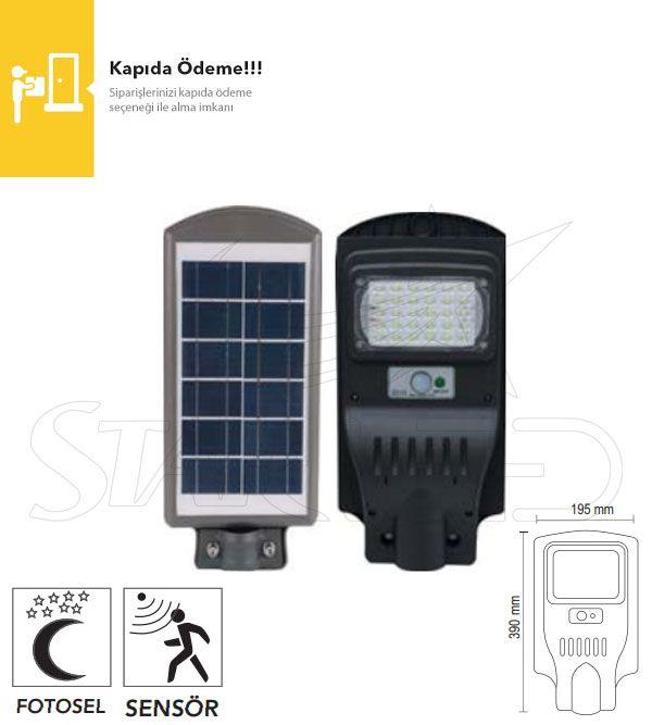 30 Watt Güneş Enerjili LED Projektör