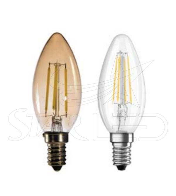 E14 Duy Mum Rustik LED Ampul