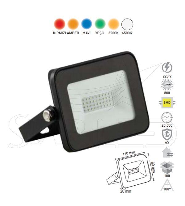 10 Watt SMD LED Projektör