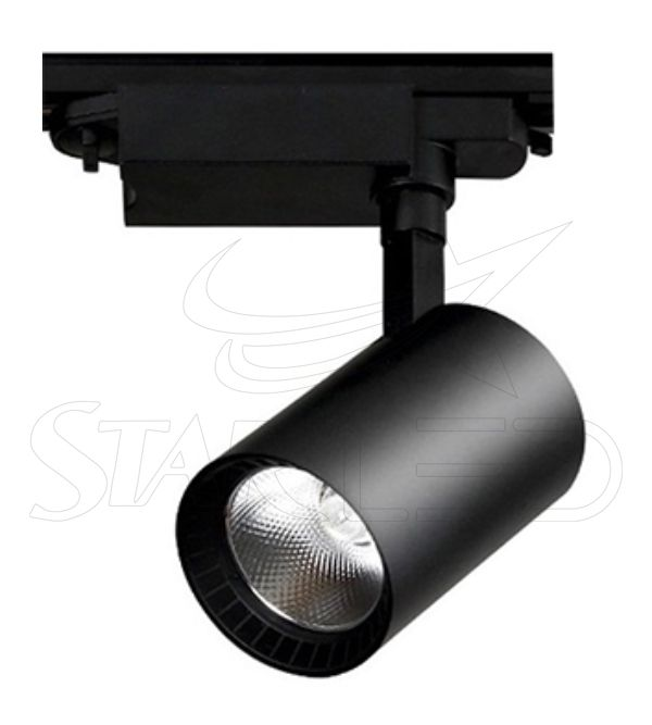 30 Watt COB LED Siyah Kasa Boru Tip Ray Spot Aydınlatma
