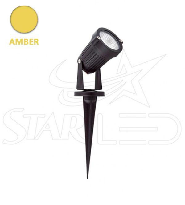 5 watt Amber Işık Kazıklı Çim Armatür