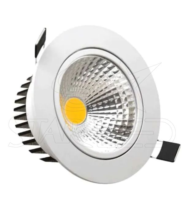 5 Watt Beyaz Kasa COB LED Downlight
