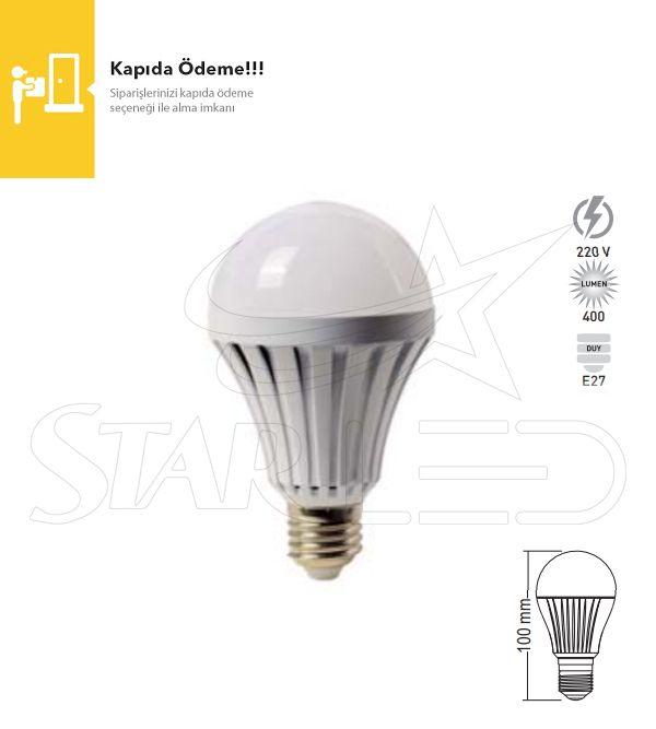 5 Watt E27 Duy Şarjlı LED Ampul
