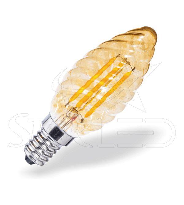 E14 Duylu Bulgulu Rustik LED Ampul