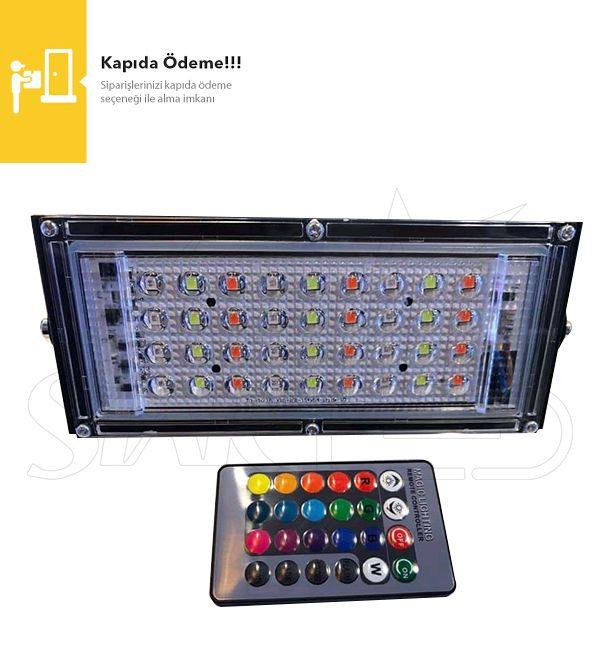 30 Watt RGB LED Projektör