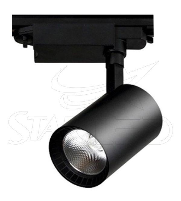 30 Watt COB LED Siyah Kasa Boru Tip Ray Spot Aydı...